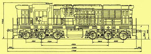MR radu 770 typový výkres