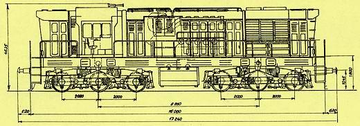 MR radu 771 typový výkres