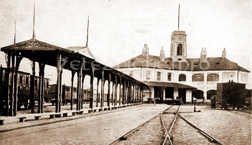 Budova prvej konskej železnice