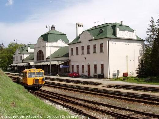Železničná stanica Kežmarok