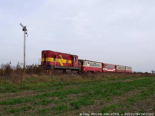 Mechanické návestidlá na trati 131
