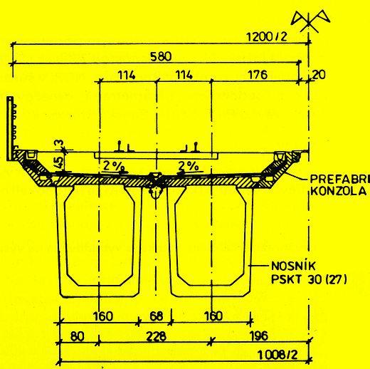 Konštrukcia z nosníkov PSKT