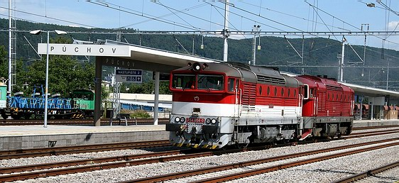 Modernizácia železničnej trate Púchov – Považská Teplá