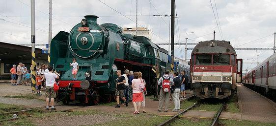 Prezidentský vlak v Košiciach