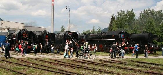 Kalendár jázd nostalgických vlakov 2017