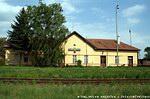 Kolárovo, stanica, kde sa koľaje v tráve strácajú