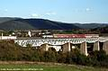 Viadukty v okolí Hanušoviec nad Topľou