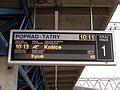 Modernizácia železničnej stanice Poprad-Tatry (2.)