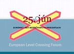 25. jún - EURÓPSKY DEŇ BEZPEČNOSTI NA ŽELEZNIČNÝCH PRICESTIACH aj na Slovensku